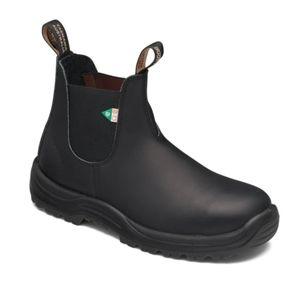 Steel toe Blundstone boots